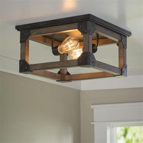 farmhouse flush mount lighting cheyanne 2 light farmhouse ceiling flush mount farmhouse