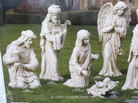piece outdoor nativity set