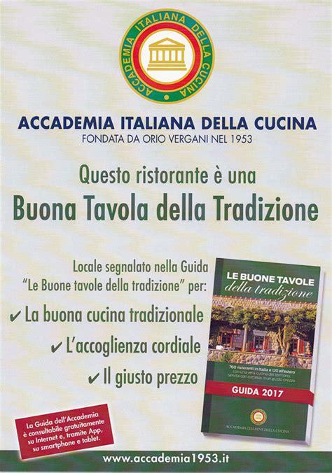 accademia italiana di cucina referenze