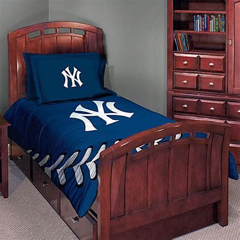 major league baseball twinfull comforter set  york
