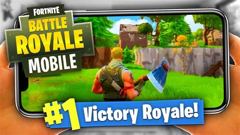 win fortnite battle royale  mobile youtube