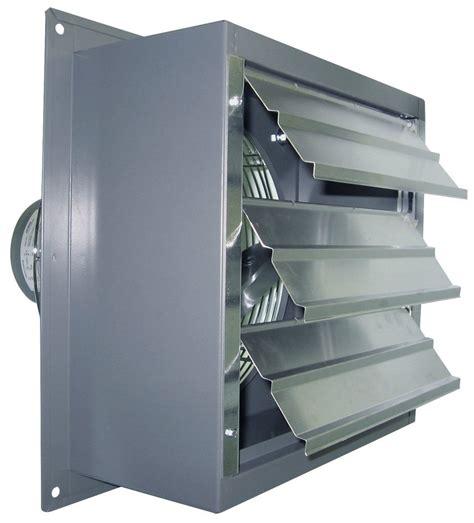 canarm    shutter mounted wall exhaust fan