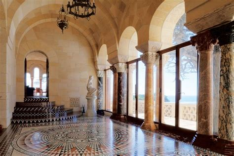 entry floors inlaid marble mosaic smiths associate architect lutah maria riggs
