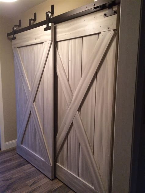 interior sliding barn doors for homes barn doors for closets that present rustic outlooks in