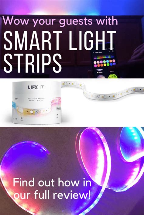 smart home light strips lifx z review first light strip with color zones for