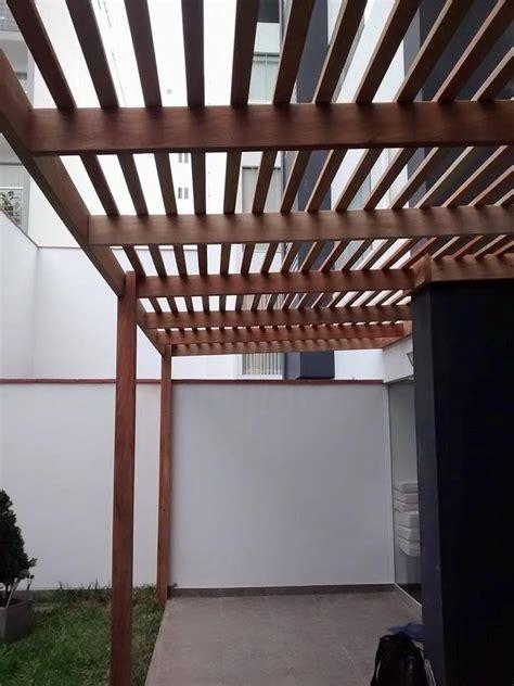techo sol  sombra madera  acabados   en mercado