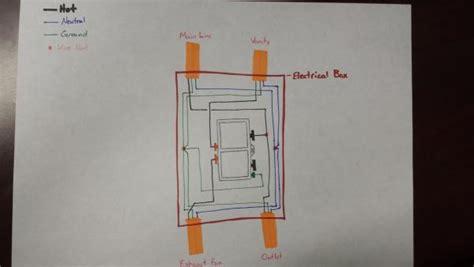 Wiring Diagram Exhaust Fan