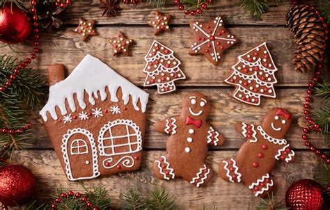 wallpaper  year cookies christmas christmas cakes