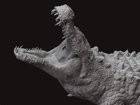 dieosuchus dinosaursprehistoric pinterest zbrush
