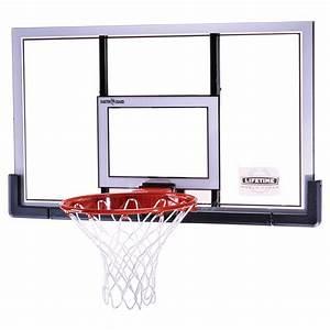 Panier Basket Mural : panier de basket mural r glable avec arceau dunk et planche plexi ~ Teatrodelosmanantiales.com Idées de Décoration