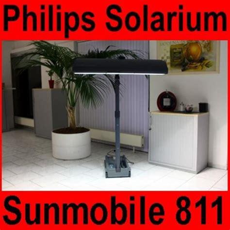 Lade Solarium by Solarium Philips Sunmobile Hb 811 Homesun Sonnenbank Solarien