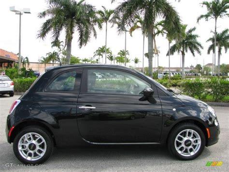 Black Fiat 500 by Nero Black 2012 Fiat 500 Pop Exterior Photo 62335420