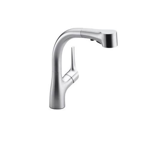 kohler elate tm pullout kitchen faucet in vibrant