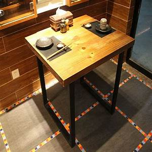 however excellent home american country retro coffee table With wood and iron coffee table sets