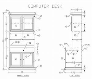 Desk Design Ideas: How To Make Computer Desk Plans