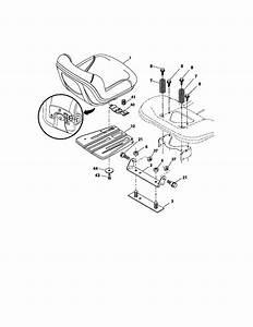 Craftsman Model 917288700 Lawn  Tractor Genuine Parts