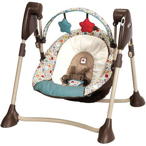 Bany Swings by Graco Swing By Me Portable Baby Swing Walmart