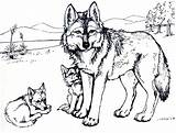 Wolf Coloring Clawdeen Printable sketch template