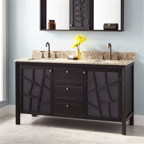 louise double vanity  rectangular undermount sinks