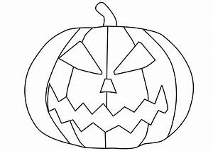 Citrouille Halloween Dessin : coloriage citrouille gratuit imprimer ~ Melissatoandfro.com Idées de Décoration