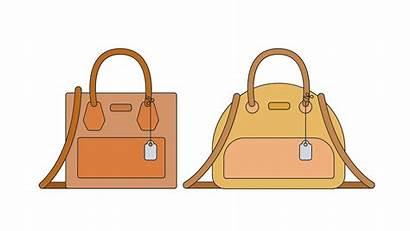Vector Handbags Bag Handbag Flat Vectors Clipart
