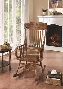 600175, Wooden, Rocking, Chair