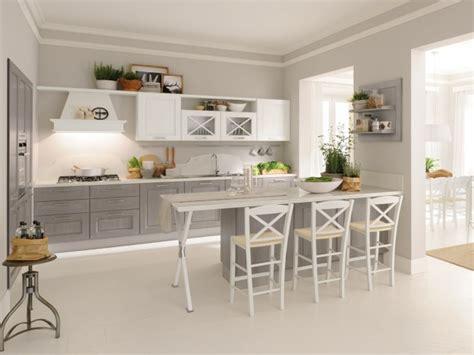 vers blanc cuisine cuisine en bois classique cucinelube avec une touche luxe