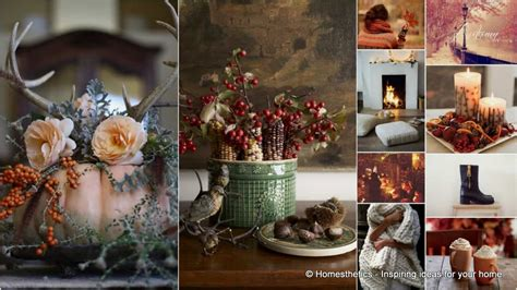 greet autumn  cozy scented warm home decor ideas