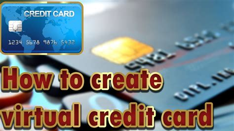 Having to pay credit card processing charges every time a customer uses a card makes it even worse. How to create online Virtual Credit Card for free   2019   Credit card - YouTube