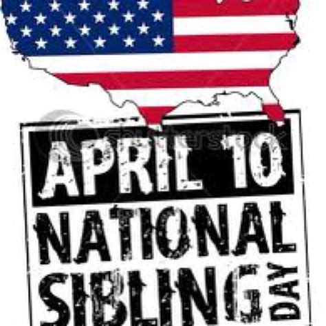 Happy National Siblings Day 2016