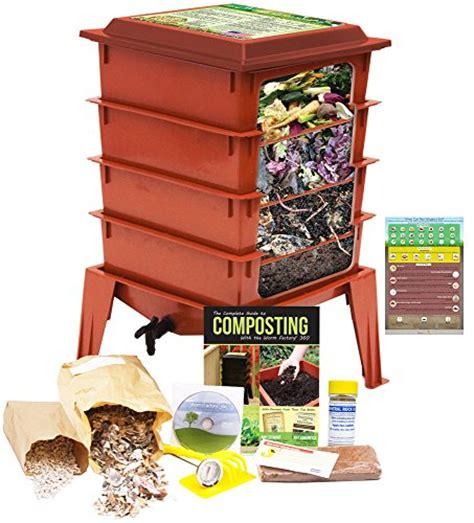 worm bin factory farm composting fishing eat wigglers infographic kits refrigerator magnet kit worms bonus terracotta garden tray guide bins