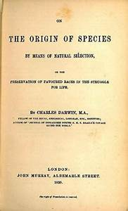Charles Darwin's On the Origin of Species becomes ...