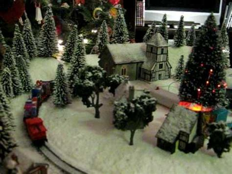 fantasy christmas train winter wonderland model railway