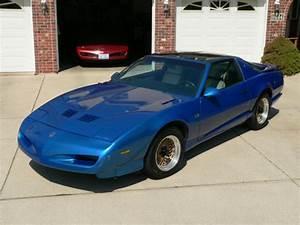 Pontiac Trans Am Hatchback 1992 Quasar Blue For Sale  1g2fw23f7nl218063 1992 Trans Am Gta With T