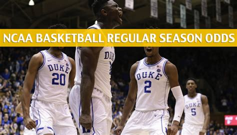 north carolina  duke predictions picks odds preview