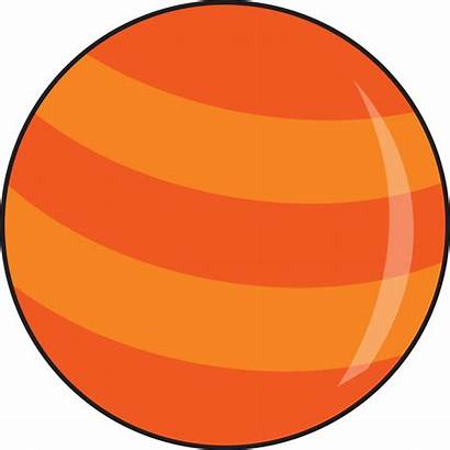Mercury Planet Clipart Clip Cartoon Planets Space