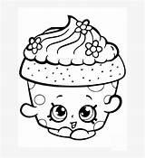 Coloring Cupcake Pngkit sketch template