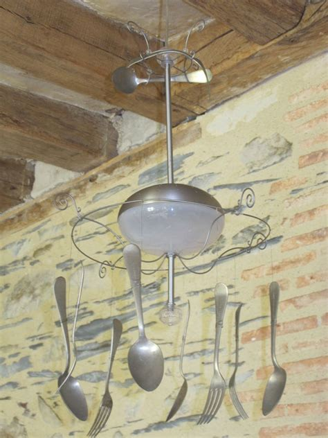 lustres de cuisine lustre en couvert bricole et casserole