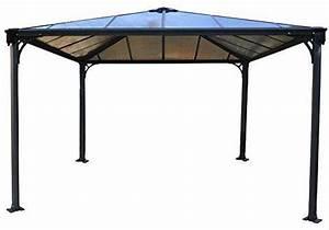 Pavillon Mit Stegplatten : palram palermo pavillon 360 x 360 cm g nstig online bestellen ~ Whattoseeinmadrid.com Haus und Dekorationen