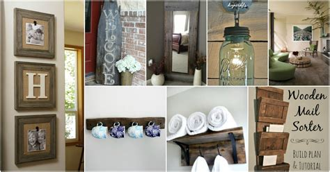 rustic diy wood crafts    sell  cents