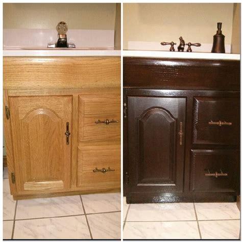 bathroom vanity general finishes java gel stain