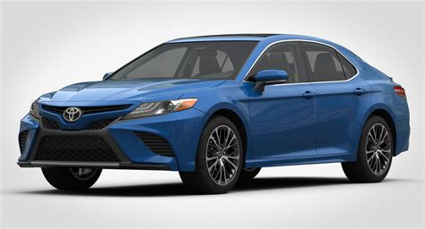 3D model Toyota Camry SE 2018 detailed interior   CGTrader