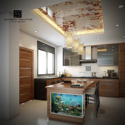 ceiling design for kitchen 25 gorgeous kitchens designs with gypsum false ceiling 5145