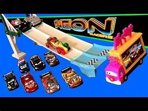 Cars 2 Neon Racers Track Set 2014 Neon Nights Taia