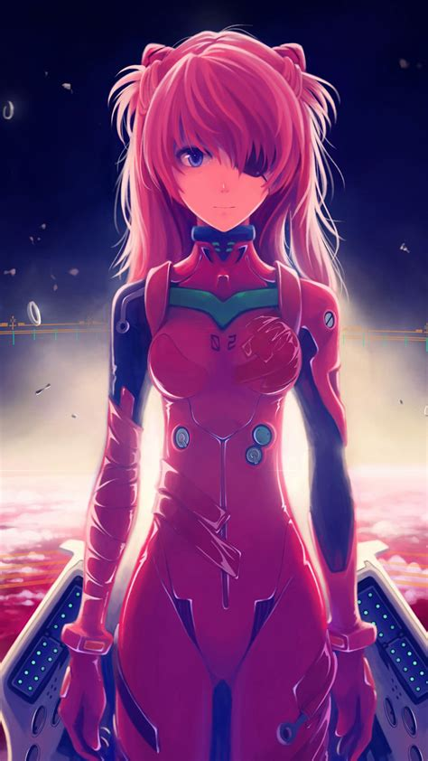 asuka langley soryu anime galaxy s6 wallpaper