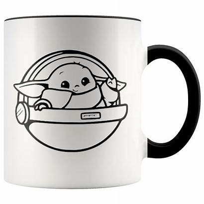 Yoda Mug Accent Coffee Floating Pod Child