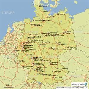 Schönsten Städte Deutschland : stepmap st dte autobahnen deutschland landkarte f r deutschland ~ Frokenaadalensverden.com Haus und Dekorationen