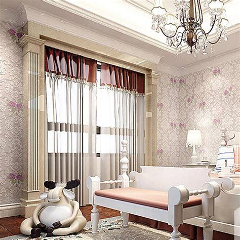 buy living room wall paper flower pink floral wallpaper