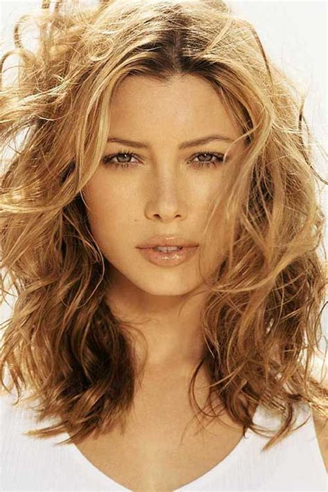 HD wallpapers hairstyles for medium length wavy curly hair