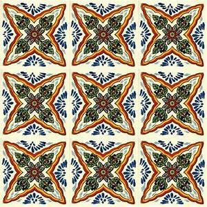 Fliesen Mit Muster : mexikanische fliesen handbemalte muster fliesen aus ~ Michelbontemps.com Haus und Dekorationen